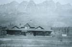 GTP station on Yellowhead Lake