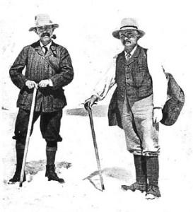 A.L. Mumm and Moritz Inderbinen